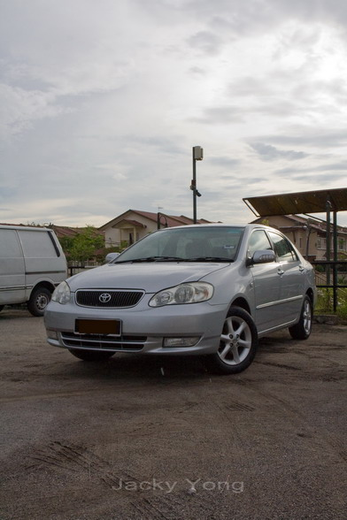 car review toyota corolla altis 2002 jacky yong rh jackyyong com toyota corolla 2008 owners manual pdf toyota corolla 2008 owners manual